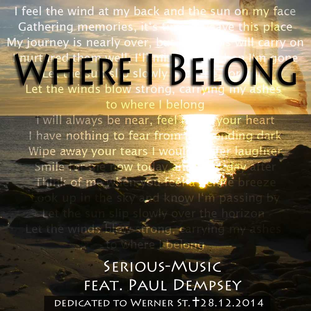 Where I Belong feat. Paul Dempsey - Album PROPER PERSPECTIVE