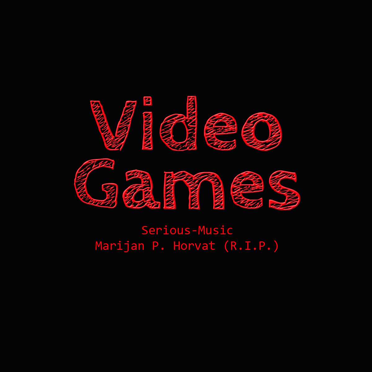 Video Games feat. Marijan P. Horvat - Album STONES OF LIFE
