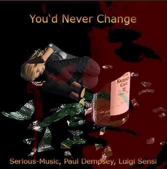 You´d Never Changed feat. Paul Dempsey, Luigi Sensi - Album FRACTURED YEARS